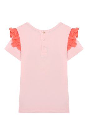 Детский футболка MARC JACOBS (THE) розового цвета, арт. W05248/6M-18M | Фото 2