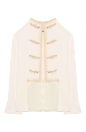 Комплект из юбки и блузы с жакетом | Фото №2