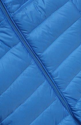 Детский пуховый комбинезон MONCLER ENFANT голубого цвета, арт. E1-951-14366-05-53048/18M-3A | Фото 3