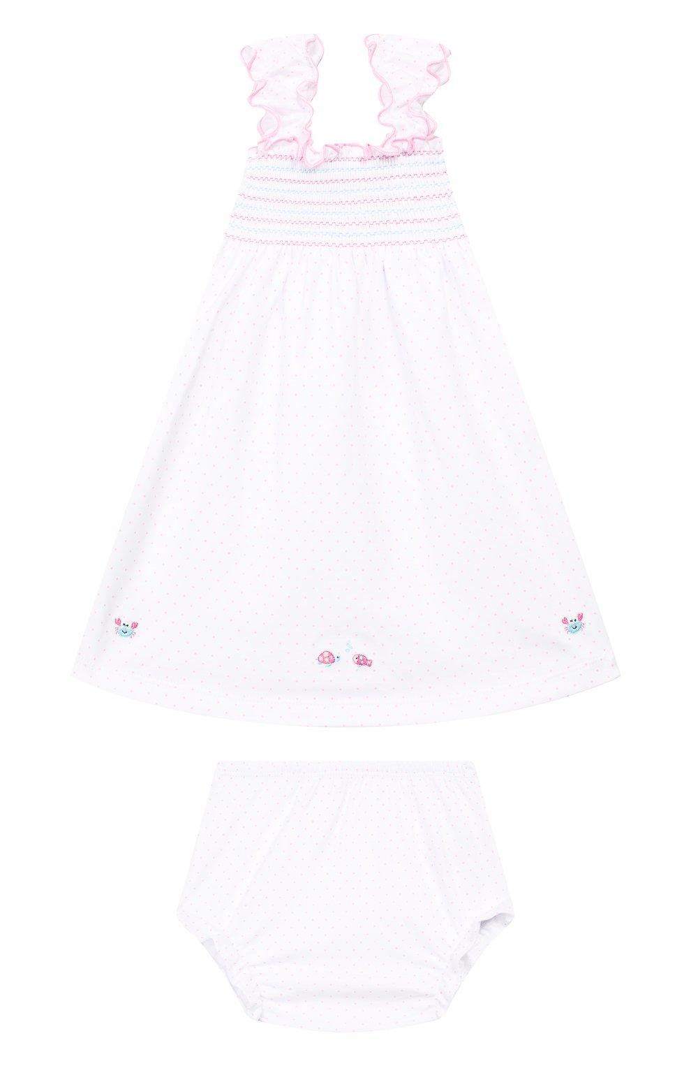 Женская комплект из платья и шорт KISSY KISSY розового цвета, арт. KGU01111I | Фото 1