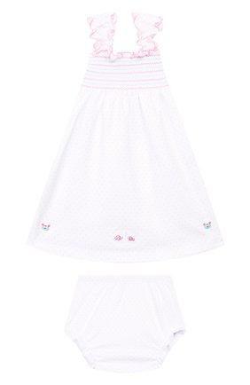 Женский комплект из платья и шорт KISSY KISSY розового цвета, арт. KGU01111I | Фото 1