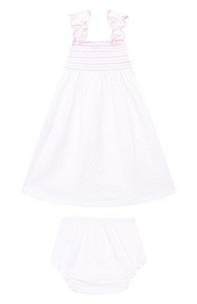Женский комплект из платья и шорт KISSY KISSY розового цвета, арт. KGU01111I | Фото 2