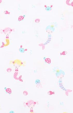 Детское хлопковое платье KISSY KISSY розового цвета, арт. KGD01113I | Фото 3