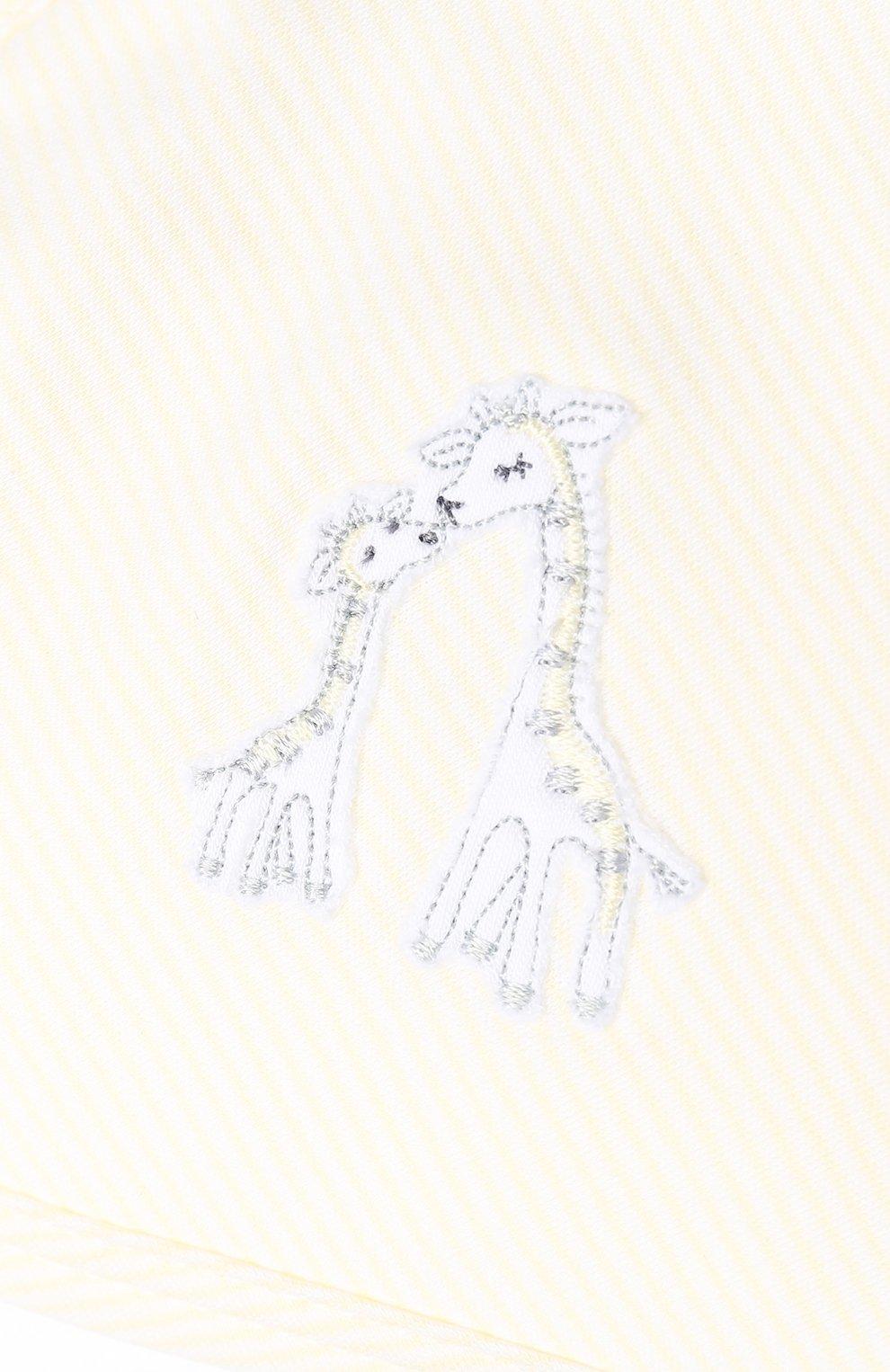 Детского комплект из хлопкового полотенца и рукавицы KISSY KISSY разноцветного цвета, арт. F1742609ST | Фото 4 (Материал: Текстиль, Хлопок)