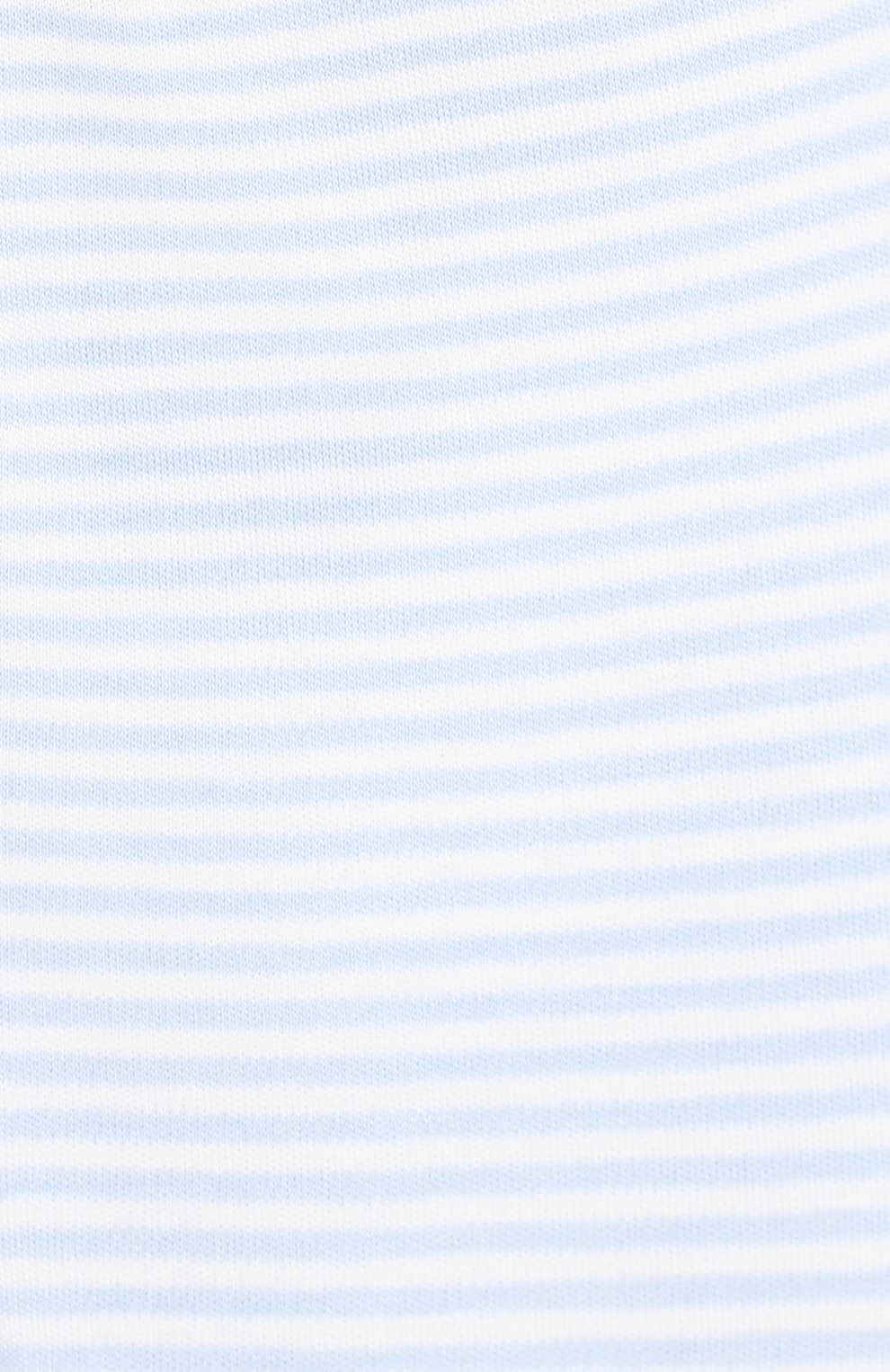 Детские хлопковые ползунки KISSY KISSY голубого цвета, арт. 44107 | Фото 3