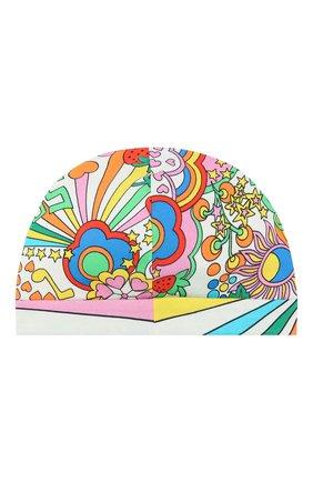 Детского хлопковая шапка GUCCI разноцветного цвета, арт. 556613/3K107 | Фото 2