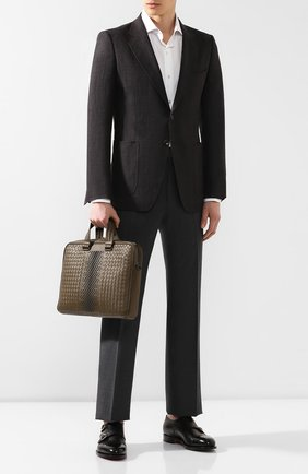 Кожаный портфель   Фото №2