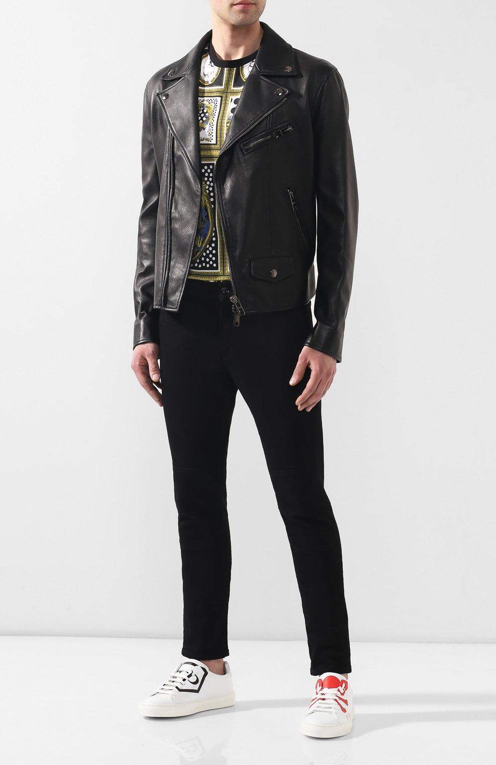 Джинсы Versus Versace черные | Фото №2
