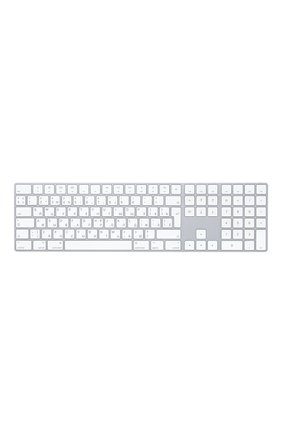 Мужского клавиатура magic keyboard с цифровой панелью APPLE  серебряного цвета, арт. MQ052RS/A | Фото 1