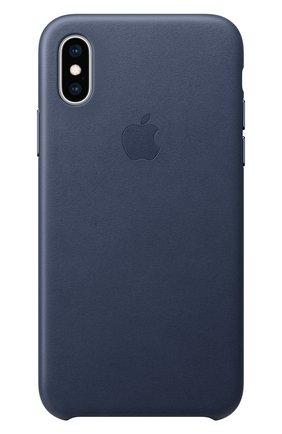 Кожаный чехол для iPhone XS | Фото №1