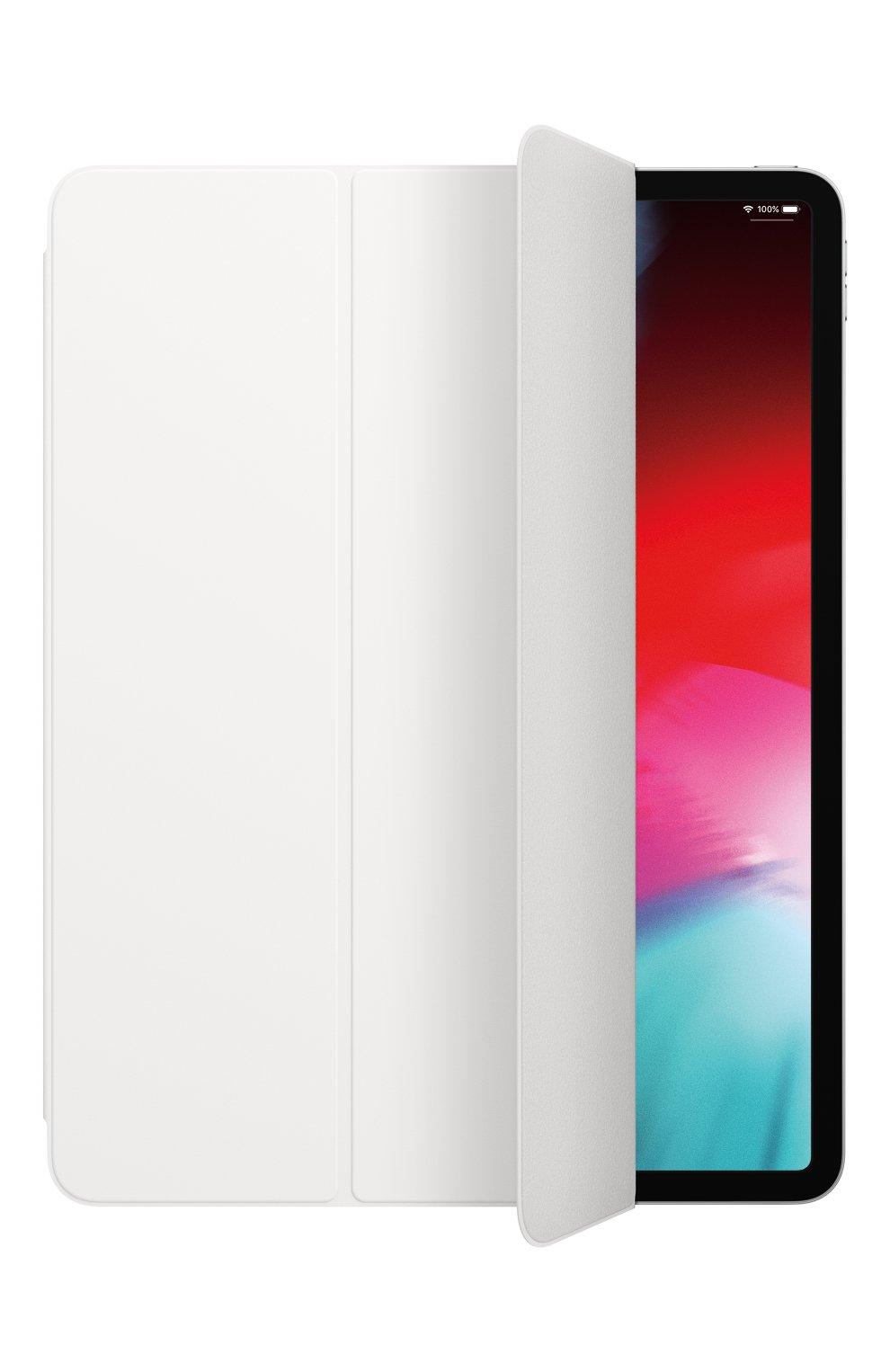 """Обложка smart folio для ipad pro 12.9"""" APPLE  белого цвета, арт. MRXE2ZM/A   Фото 2"""