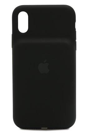 Мужской чехол smart battery case для iphone xr APPLE черного цвета, арт. MU7M2ZM/A | Фото 1