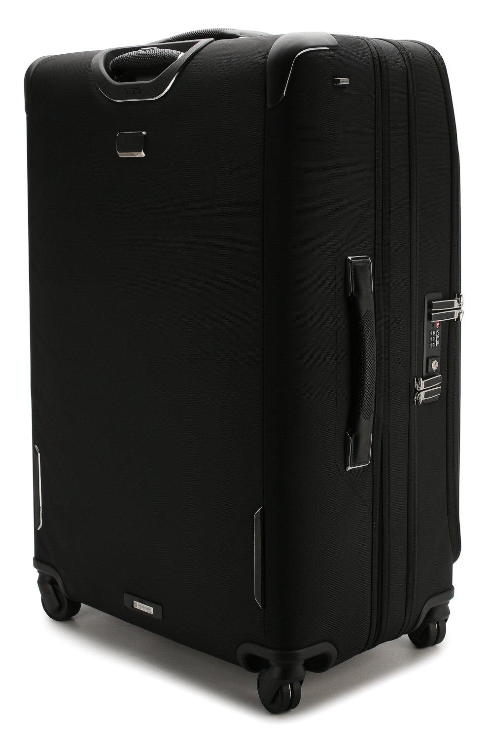 Женский дорожный чемодан arrive TUMI черного цвета, арт. 025503969D3 | Фото 2 (Статус проверки: Проверено, Проверена категория; Ограничения доставки: oversized; Размер: large)
