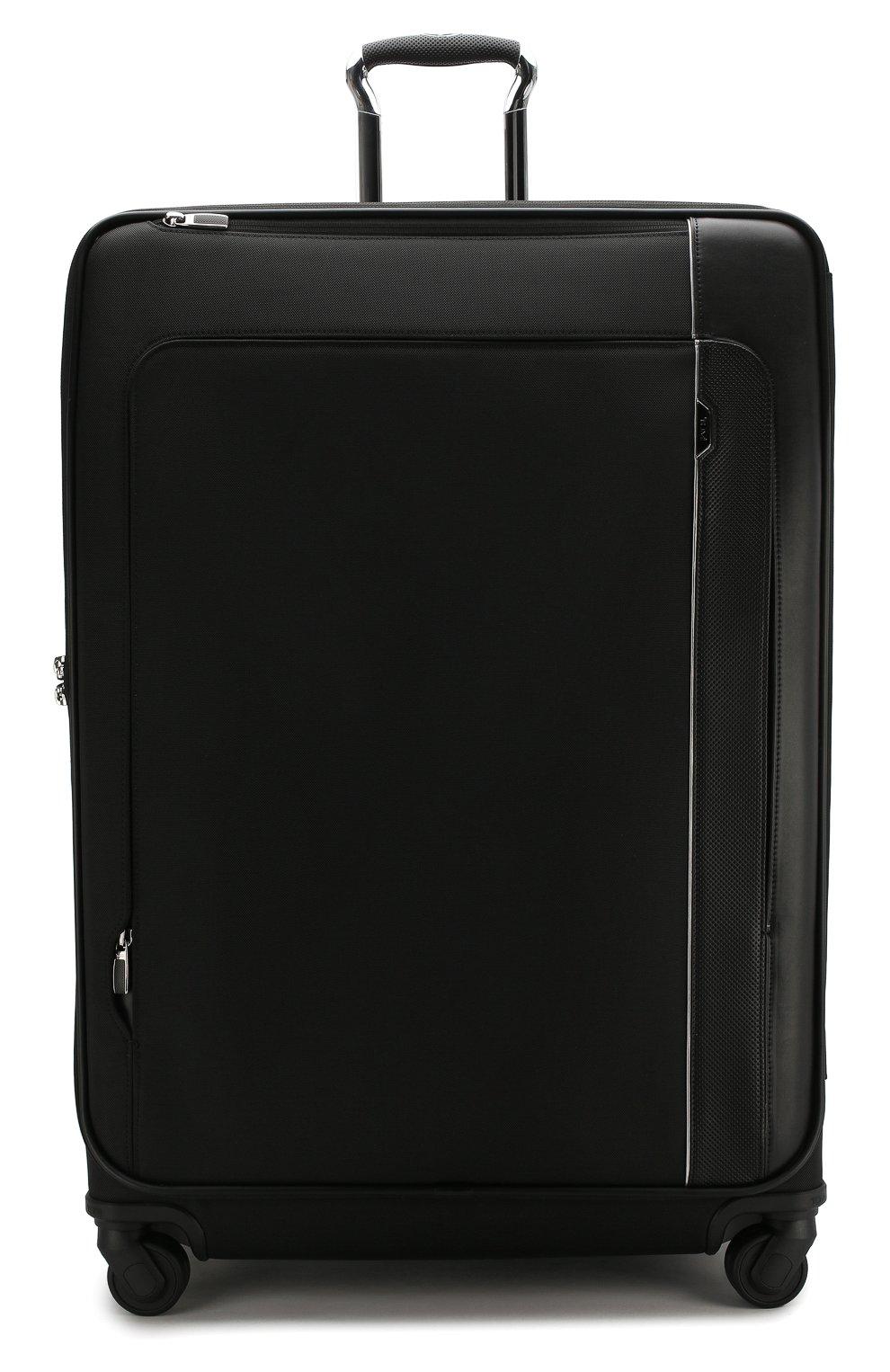 Женский дорожный чемодан arrive TUMI черного цвета, арт. 025503969D3 | Фото 4 (Статус проверки: Проверено, Проверена категория; Ограничения доставки: oversized; Размер: large)