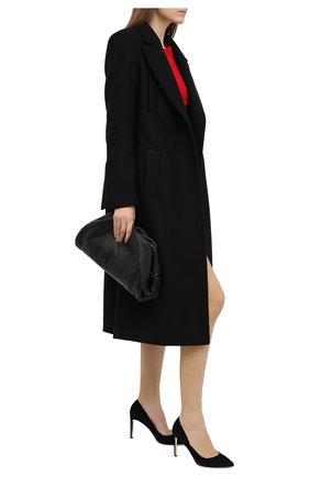 Женская замшевые туфли decollete RUBEUS MILANO черного цвета, арт. RU7/3 | Фото 2