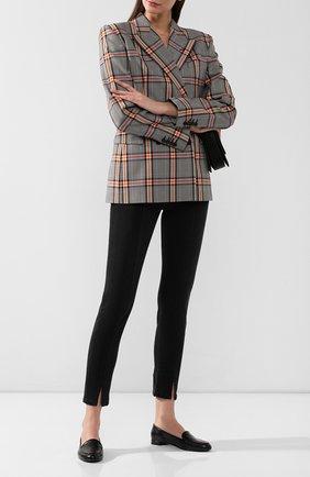 Женские кожаные лоферы babbuccia RUBEUS MILANO черного цвета, арт. RU 4/4 | Фото 2