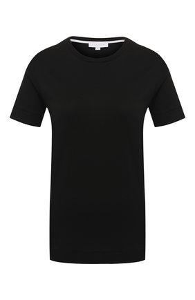Женская хлопковая футболка ESCADA SPORT черного цвета, арт. 5030687 | Фото 1