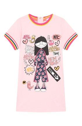 Женский мини-платье MARC JACOBS (THE) розового цвета, арт. W02125/6M-18M | Фото 1