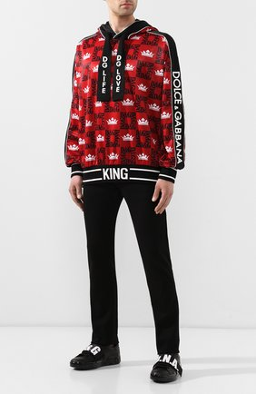 Джинсы Karl Lagerfeld denim черные | Фото №2