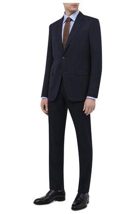 Мужская хлопковая рубашка ETON светло-голубого цвета, арт. 4707 61311 | Фото 2