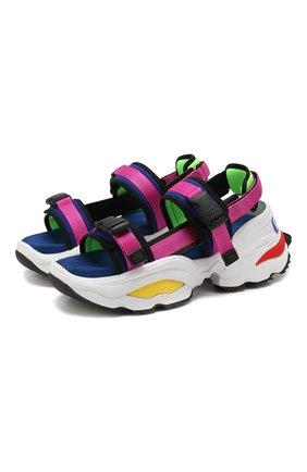 Текстильные сандалии   Фото №1