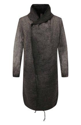 Двустороннее льняное пальто | Фото №1