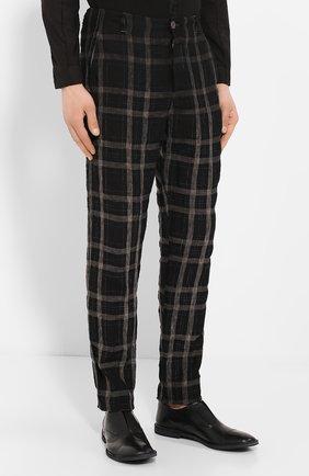 Льняные брюки | Фото №3