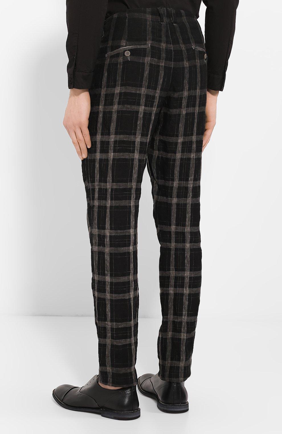 Льняные брюки | Фото №4