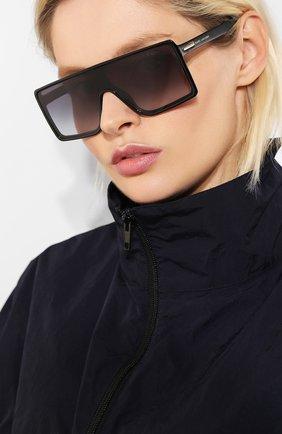 Женские солнцезащитные очки MARC JACOBS (THE) черного цвета, арт. MARC 220 807 | Фото 2