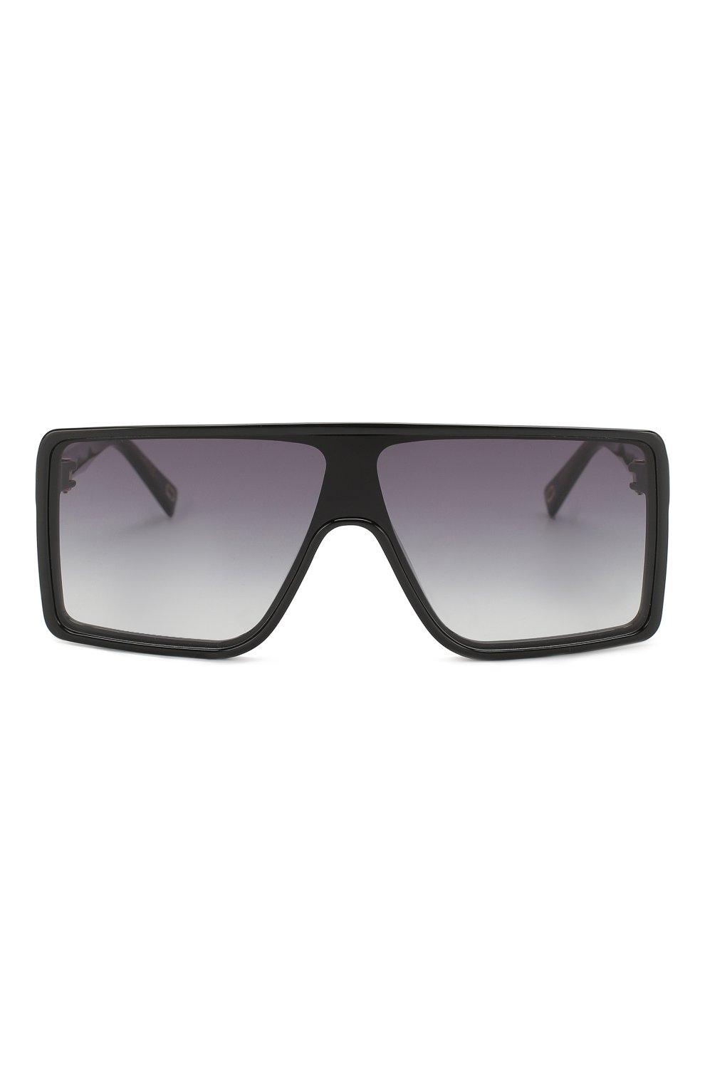 Женские солнцезащитные очки MARC JACOBS (THE) черного цвета, арт. MARC 220 807 | Фото 3