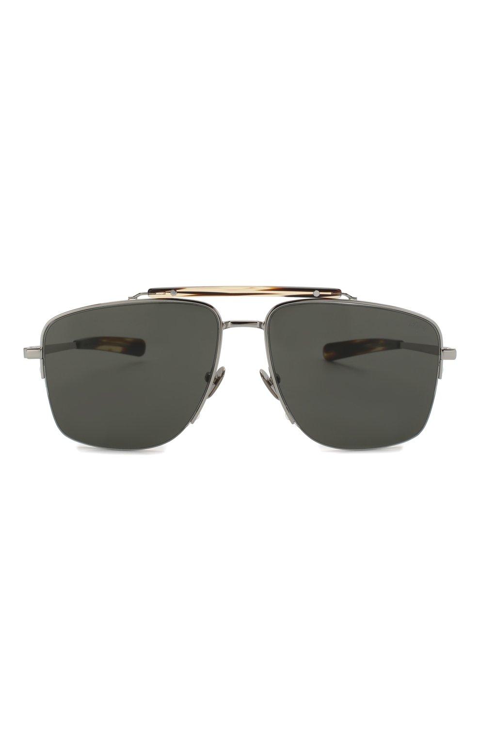 Мужские солнцезащитные очки BRIONI серого цвета, арт. BR0053 002 | Фото 2