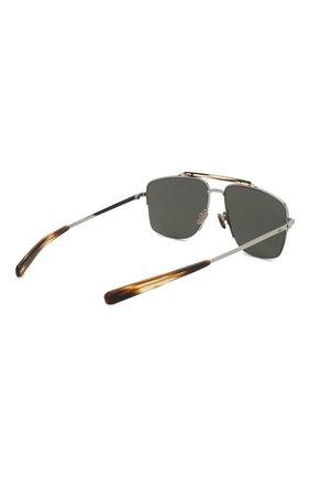 Мужские солнцезащитные очки BRIONI серого цвета, арт. BR0053 002 | Фото 3