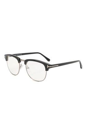 Мужские солнцезащитные очки TOM FORD черного цвета, арт. TF248 001 | Фото 1