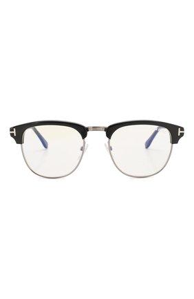 Мужские солнцезащитные очки TOM FORD черного цвета, арт. TF248 001 | Фото 2