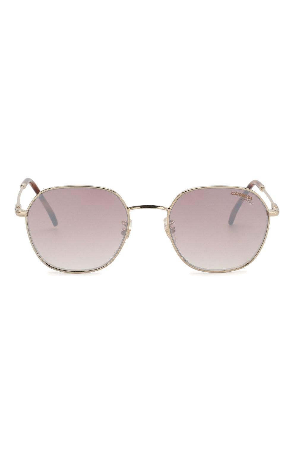 Женские солнцезащитные очки CARRERA серебряного цвета, арт. CARRERA 180/F 06J   Фото 3