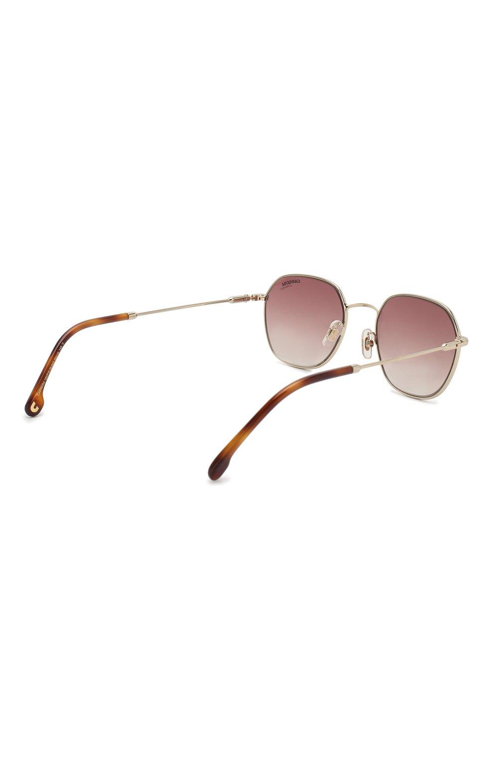 Женские солнцезащитные очки CARRERA серебряного цвета, арт. CARRERA 180/F 06J   Фото 4