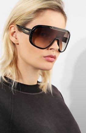 Женские солнцезащитные очки CARRERA коричневого цвета, арт. CARRERA EPICA 807   Фото 2