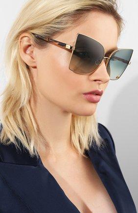 Женские солнцезащитные очки N21 темно-зеленого цвета, арт. N21S41C3 SUN | Фото 2