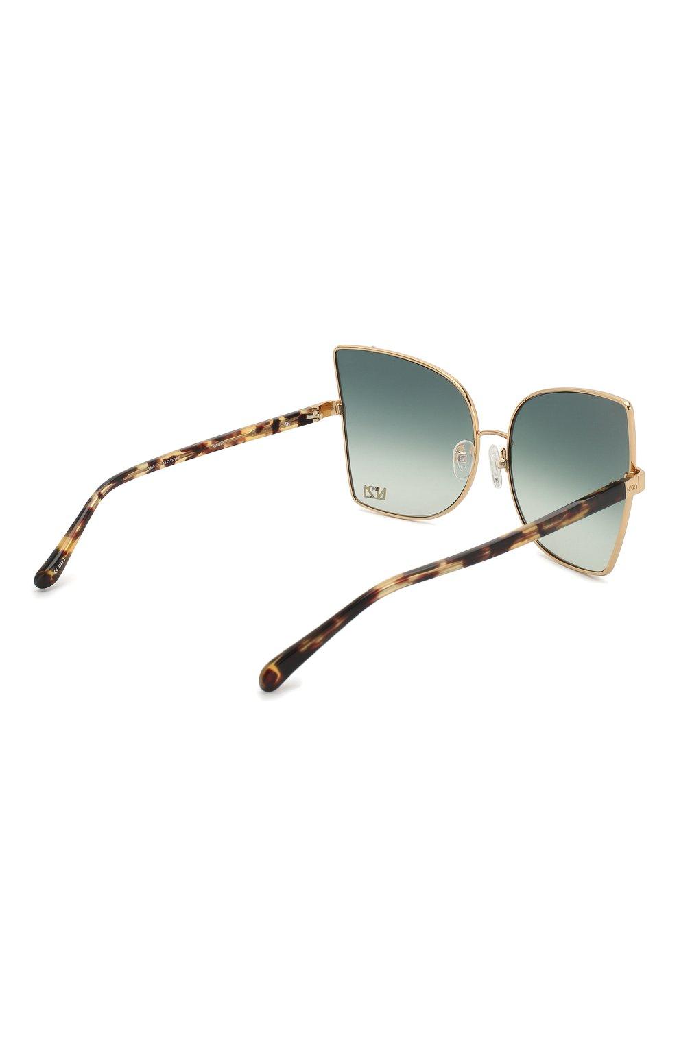 Женские солнцезащитные очки N21 темно-зеленого цвета, арт. N21S41C3 SUN | Фото 4
