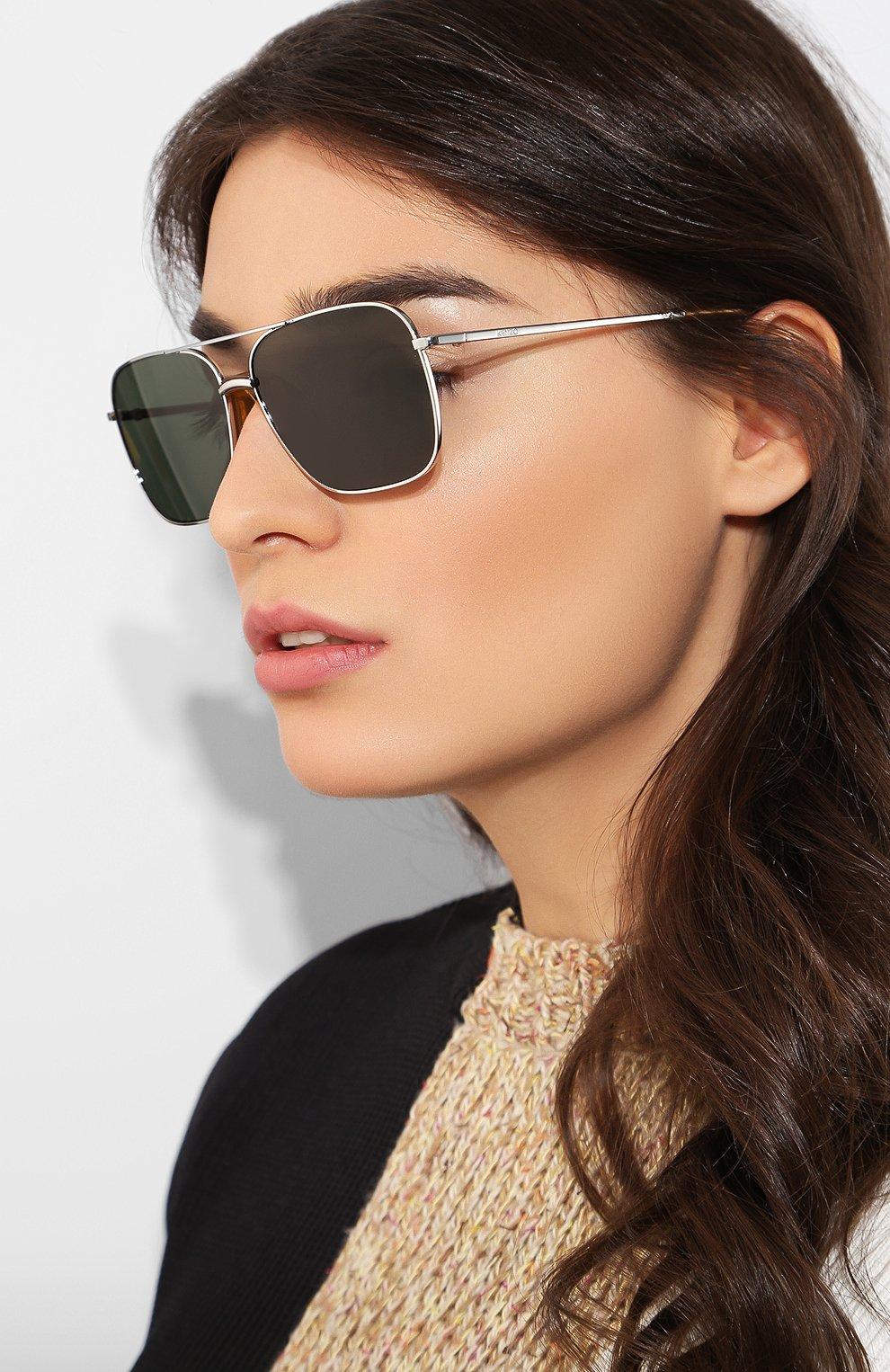Женские солнцезащитные очки KENZO темно-серого цвета, арт. KZ40013I 18N | Фото 2