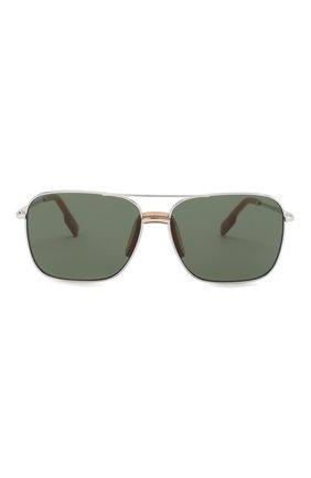 Женские солнцезащитные очки KENZO темно-серого цвета, арт. KZ40013I 18N | Фото 3