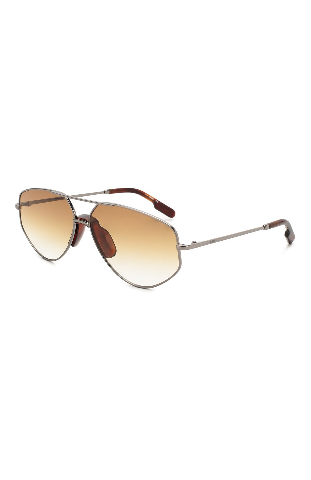 Женские солнцезащитные очки KENZO светло-коричневого цвета, арт. KZ40014U 12W   Фото 1