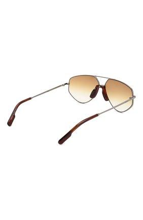 Женские солнцезащитные очки KENZO светло-коричневого цвета, арт. KZ40014U 12W   Фото 4