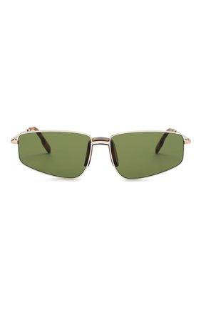 Женские солнцезащитные очки KENZO темно-зеленого цвета, арт. KZ40015U 32N | Фото 3