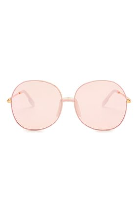 Женские солнцезащитные очки KENZO светло-розового цвета, арт. KZ40017F 30C | Фото 3