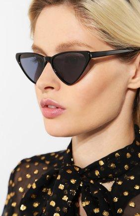 Женские солнцезащитные очки SPEKTRE черного цвета, арт. FRIDA 01AFT | Фото 2