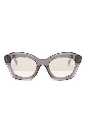 Женские солнцезащитные очки TOM FORD серого цвета, арт. TF689 20C | Фото 3