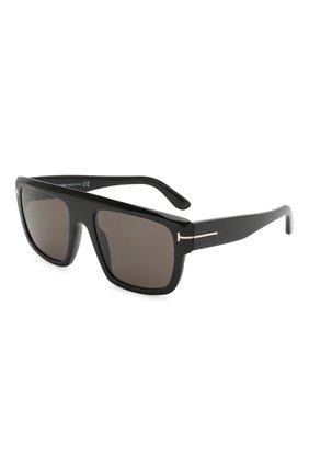 Мужские солнцезащитные очки TOM FORD черного цвета, арт. TF699 01A | Фото 1