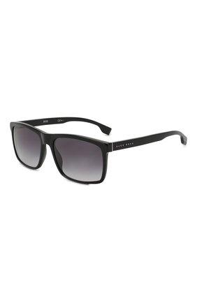 Мужские солнцезащитные очки BOSS черного цвета, арт. 1036 807 | Фото 1