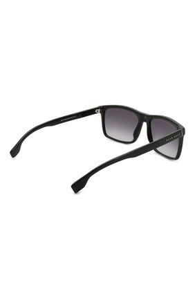 Мужские солнцезащитные очки BOSS черного цвета, арт. 1036 807 | Фото 3